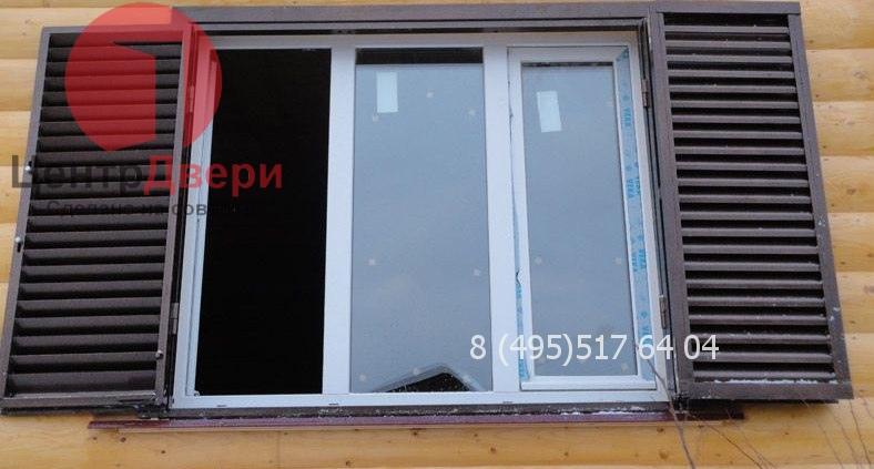 металлические ставни на окна в москве