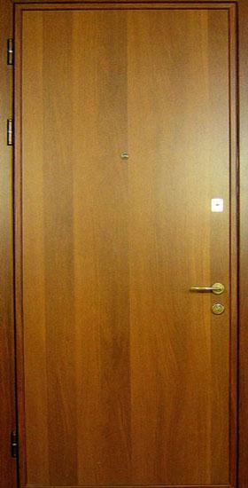 стальная ламинированная дверь